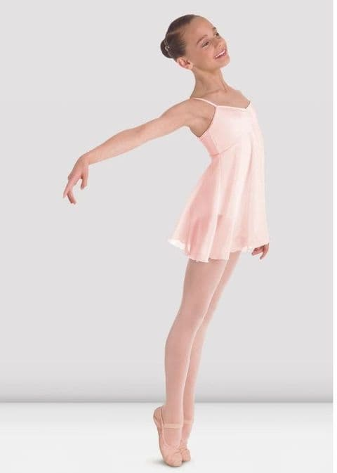Pale Pink Juliet Skirted Leotard from Bloch Hire Costume