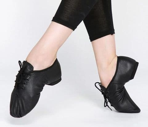 SALE Split Sole Lace Up Jazz Shoe