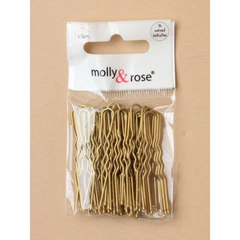 Small Blonde Hairpins