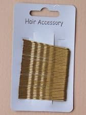 Small Blonde Kirby Hair Grips