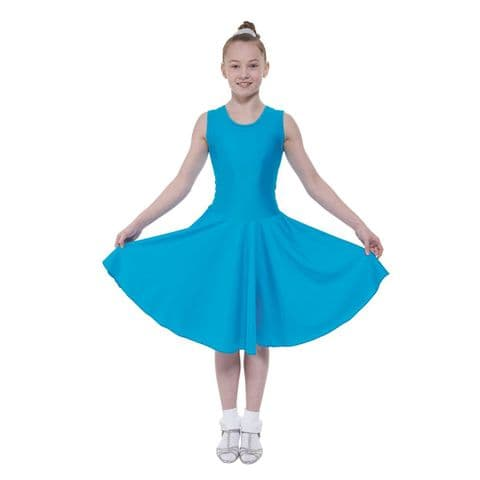 Tappers and Pointers Sleeveless Ballroom/2 Standard Length Dress