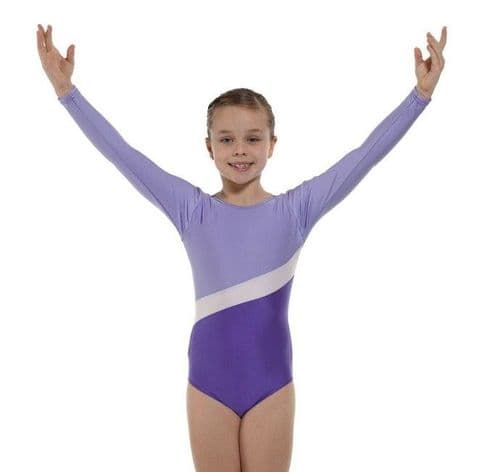 Tappers & Pointers Gym 2 Leotard in Lilac