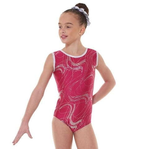 Tappers & Pointers Gym 35 Sleeveless Gym Leotard