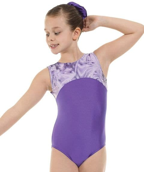 Tappers & Pointers Gym 4 Leotard in Purple