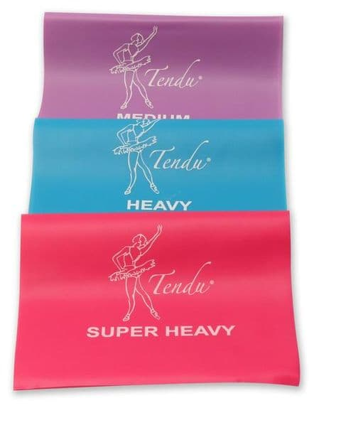 Tendu Exercise Bands - All Strengths Thera Band