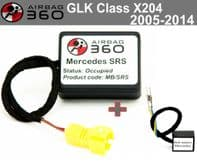 Mercedes GLK CLASS X204  Passenger Seat mat Occupancy Sensor, occupied recognition sensor  emulator