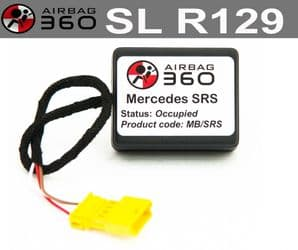 Mercedes SL  Class R129 Front  Passenger Seat mat Occupancy Sensor, occupied recognition sensor