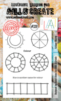 #339 Colour Theory A6 Stamp AALL & Create Stamp