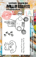 #358 Paw Prints A7 Stamp AALL & Create Stamp