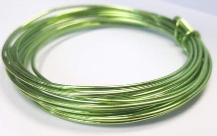 1.5mm x 3m wire - Apple Green