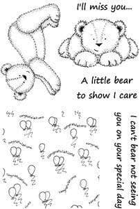 Clear Stamps by Lynsey Mason - Everyday Bears Miss You