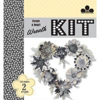 Craftwork Cards Create-a-Wreath - Mr & Mrs