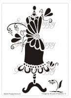 Daisy (Dress 5) Sweet Poppy Stencil