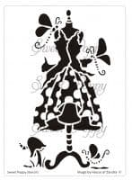 Dotty (Dress 4) Sweet Poppy Stencil