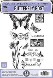 Eco-friendly Stamps - Butterfly Post