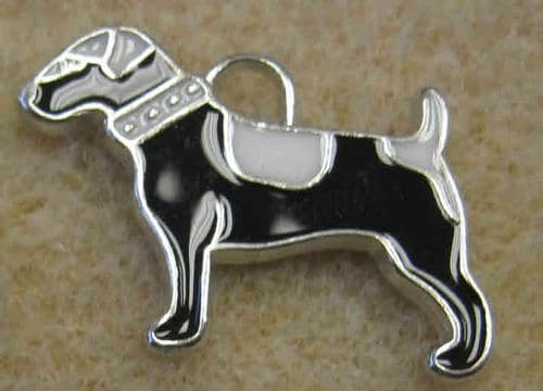 Enamel Alloy Charm/Pendant - Dog - Pack of 8 mixed colours