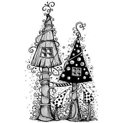 Fairy House - Lavinia Stamps (LAV030)