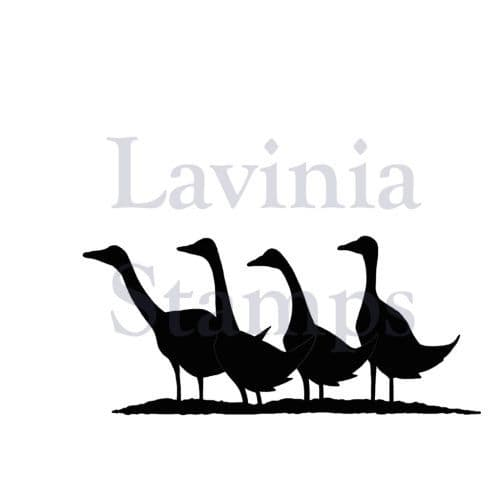Gaggle of Geese - Lavinia Stamps (LAV279)