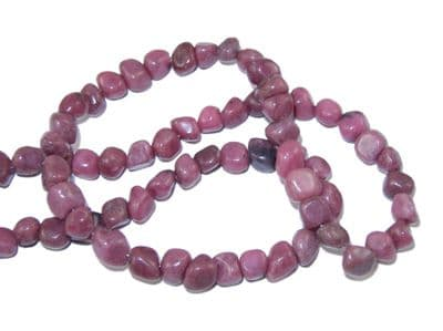 Gemstone Beads - Natural Rhodonite - Nuggets (3-5mm) Approx 40 beads