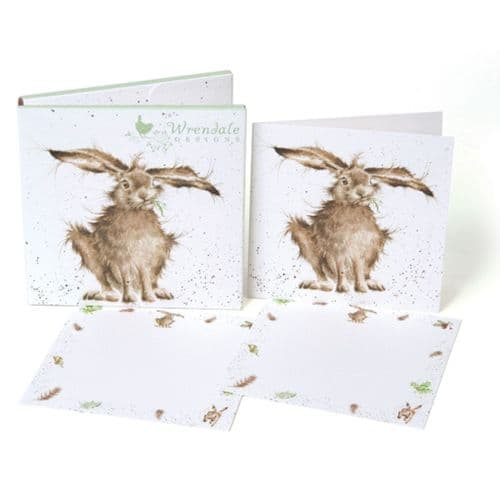 Hare-Brained Wrendale Designs Notecard Pack