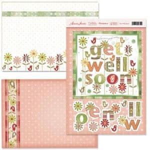 Hunkydory Adorable Scorable Celebrations Collection  - Get Well Soon!