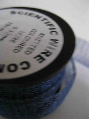 Knitted Craft Wire - 15mm x 3m - Supa Mid Blue