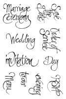 Our Special Day Clear Woodware Stamp (JGCL547)