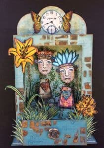 PaperArtsy Chippie: Large Niche A5 (with Drawer)