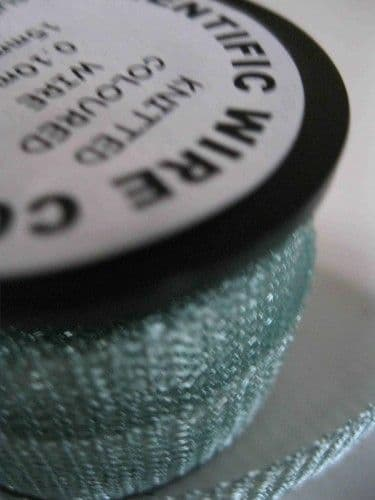 Supa Ice Blue 0.1mm Knitted Wire (15mm wide x 1m)