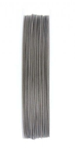 Tigertail - 10m Roll - Silver