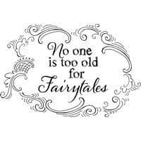 Timeless Fairytales Stampendous Cling Stamp  (CRH319)
