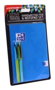 Uni air Handwriting Pen & Notepad Set A5 Blue