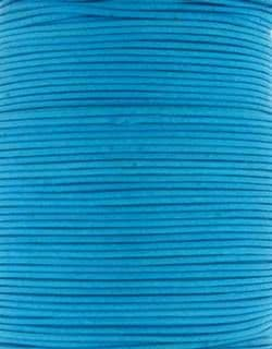 Wax Cotton 2mm - Blue Topaz (one metre)