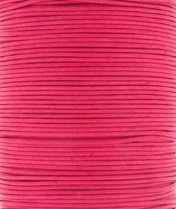 Wax Cotton 2mm - Rose (one metre)