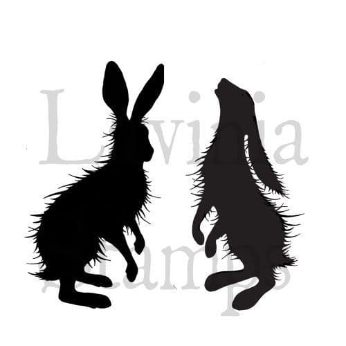 Woodland Hares - Lavinia Stamps (LAV409)