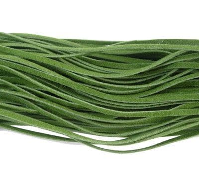 Wool Cord - Olive 2.7x1mm - 5 Metres