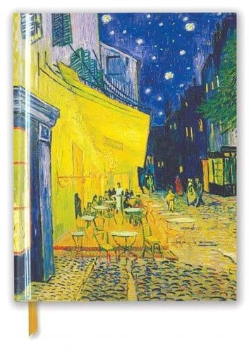 A4 Van Gogh: Cafe Terrace Flame Tree Sketchbook