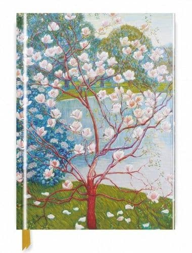 A4 Wilhelm List: Magnolia Trees flame tree sketchbook