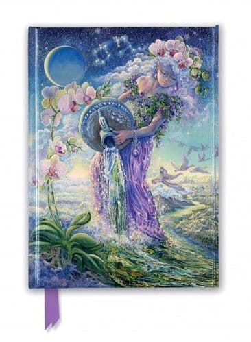 A5 Josephine Wall: Aquarius Foiled Journal