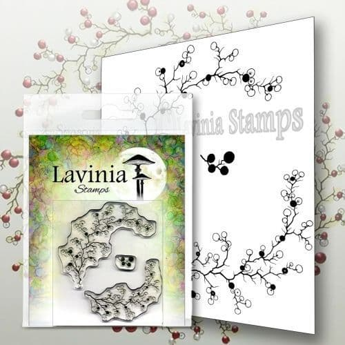 Berry Wreath with Mini Berries Berry Wreath - Lavinia Stamps (LAV568)
