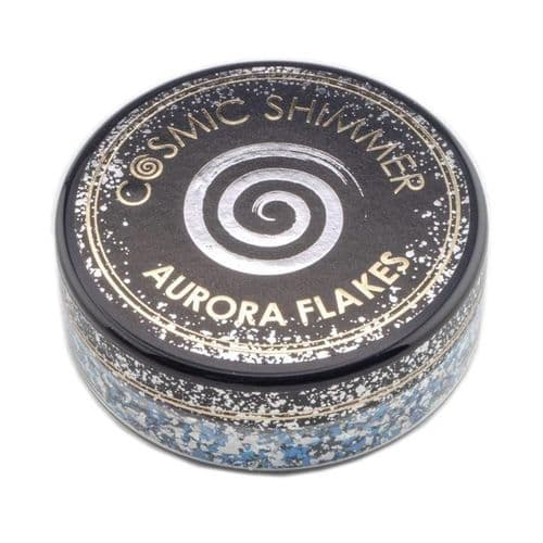 Blue Ice Cosmic Shimmer Aurora Flakes (50ml)