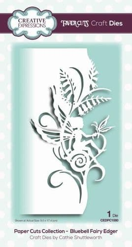 Bluebell Fairy Edger Creative Expressions Die (CEDPC1080)