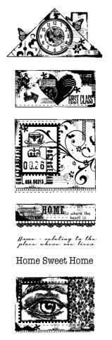 Build a Home Woodware Clear Stamp (FRS362)