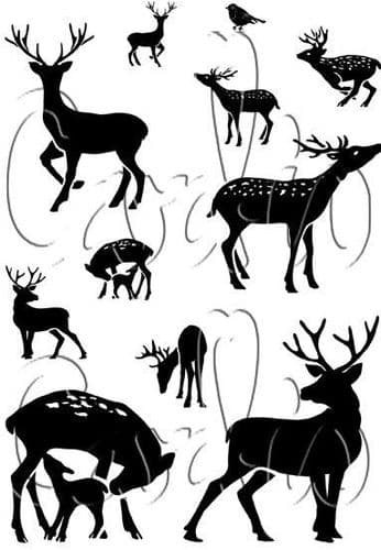 Dear Deer Cardio Clear Stamps