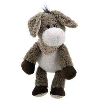 Donkey with Scarf Snuggles Wilberry Toy