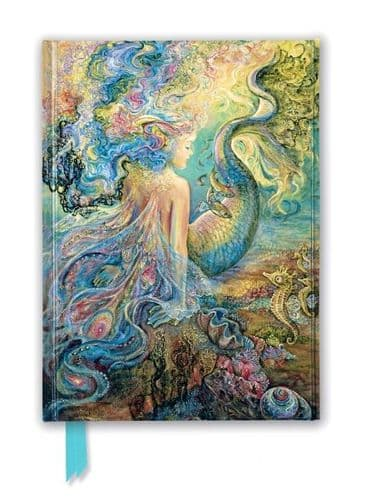 Josephine Wall: Mer Fairy Foiled Notebook
