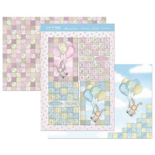 Little Baby Bunny Hunkydory Topper Sheet