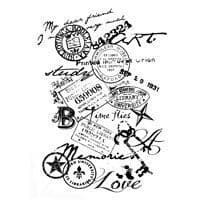 Memories Clear Woodware Stamp (FRS613)