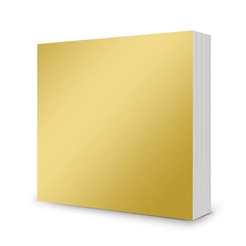"Mirri Mats - 6x6"" Rich Gold (100 sheets)"