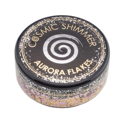 Morning Blush Cosmic Shimmer Aurora Flakes (50ml)